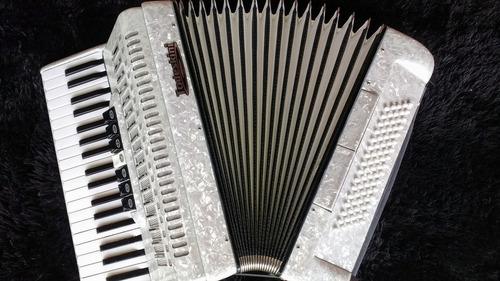 acordeon gaita todeskini 80 baixos com estojo completo