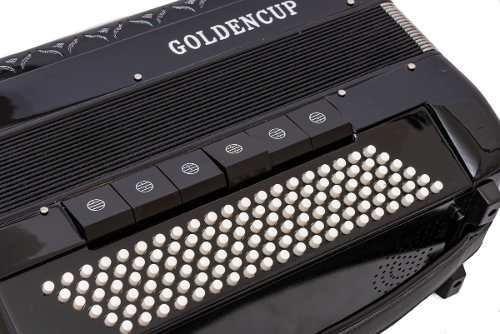 acordeon golden cup negro 120 bajos 13+6+1 reg jh2012