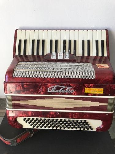 acordeon hohner fidelio alemana-80 bajos-impecable-dyess