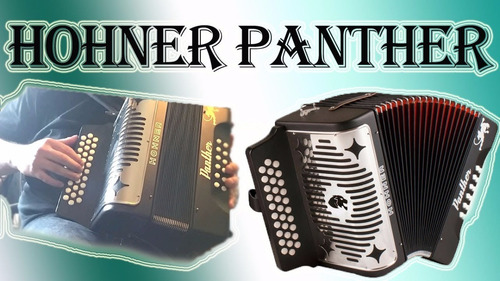 acordeón hohner panther a4800s sol-do-fa nuevo!