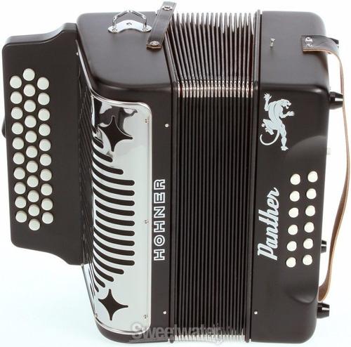 acordeon hohner panther  tono fa
