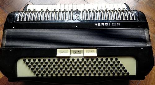 acordeon hohner verdi 3m