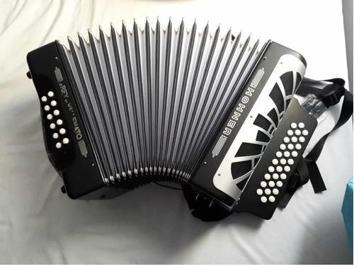 acordeon honner rey vallenato tonalidad 5 letras brillante