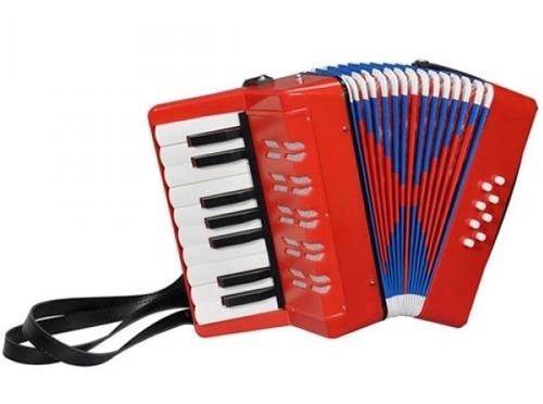acordeon j meister uc-104 para niños con 8 bajos y 17 teclas