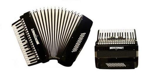 acordeon meistehaft 48 bajos 3 registros