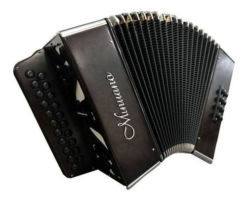 acordeon minuano 8 baixos 8/21 envelhecida musicamento itali