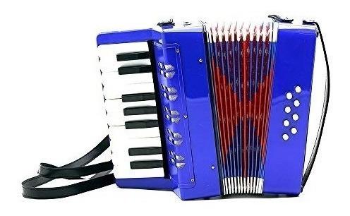 acordeon niños 8 bajos 17 teclas liviano con correas corelli
