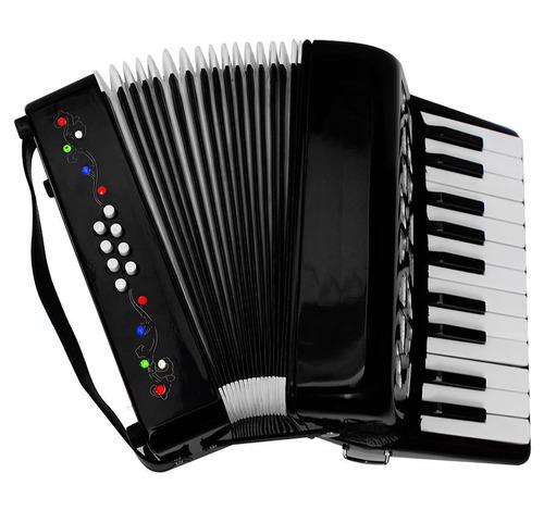 acordeon profesional con detalles realizados a mano es genia