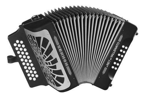 acordeon rey vallenato - besas - c/e hohner