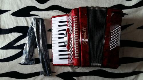 acordeon scandall 3 registros de 48 bajos excelente calidad