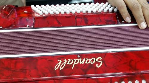 acordeon scandall, de 80 bajos, 7 registros,
