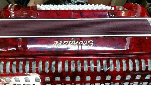 acordeon scandall, de 80 bajos, 7 registros, de calidad