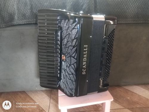 acordeon scandalli cordovox super v black air