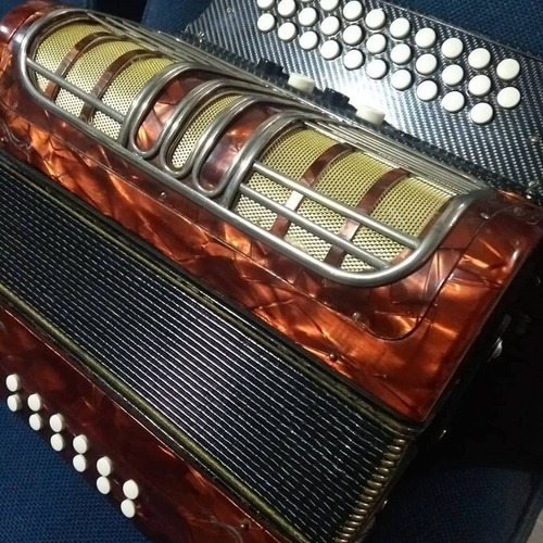 acordeón vallenato hohner alemán corona lli