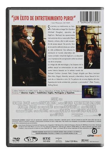 acoso sexual michael douglas demi moore película dvd