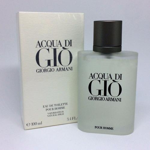 acqua di gio pour homme 100ml masculino | original + amostra