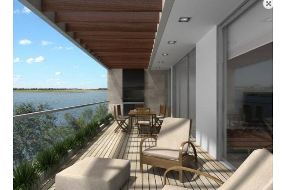 acqua golf 1. sexto piso. esquina de  3 ambientes al lago ce