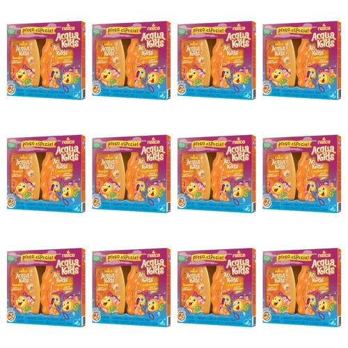 acqua kids mamão papaya cachos sh + cond 250ml (kit c/12)