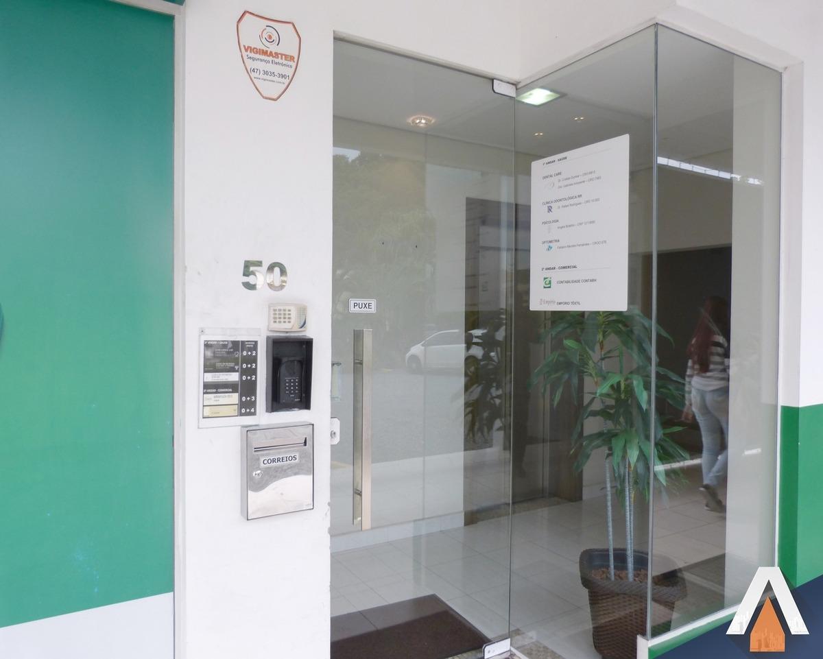 acrc imoveis - agua verde - sala comercial - 03 ambientes - 01 bwc - cozinha - copa - ampla sacada - sa00445 - 34007122