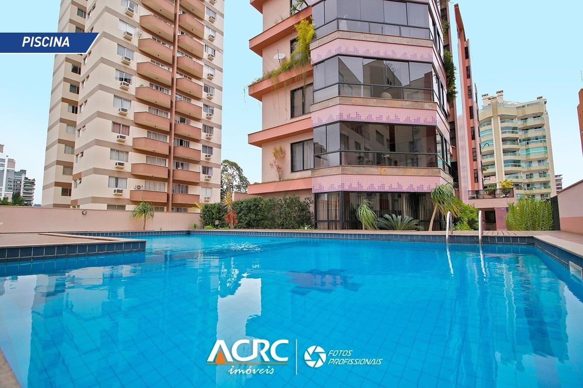 acrc imóveis - apartamento com 03 suítes à venda no bairro ponta aguda - ap02876 - 34427816