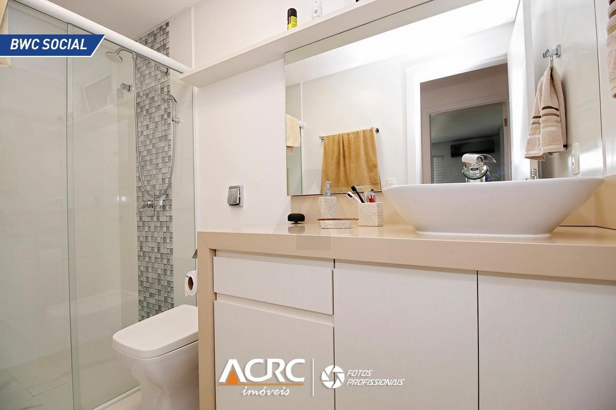 acrc imóveis - apartamento finamente mobiliado para venda no centro de blumenau - ap02950 - 34478950