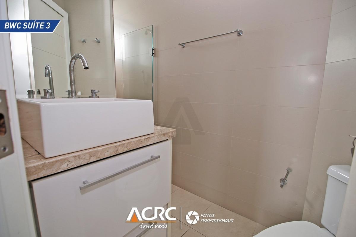 acrc imóveis - apartamento semi mobiliado, com 03 suítes e 02 vagas de garagem. - ap02177 - 33584981