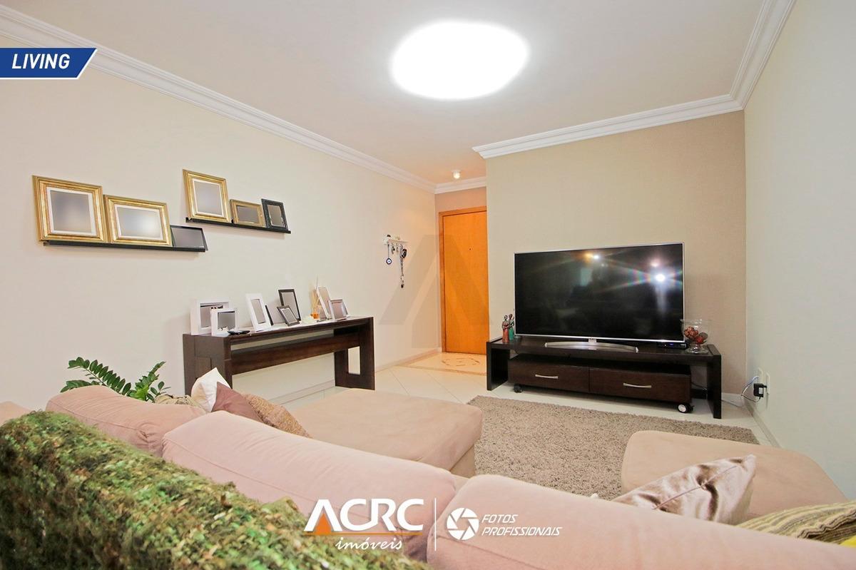 acrc imóveis - apartamento semi mobiliado com sacada e churrasqueira para venda no bairro vila nova - ap03591 - 68083262