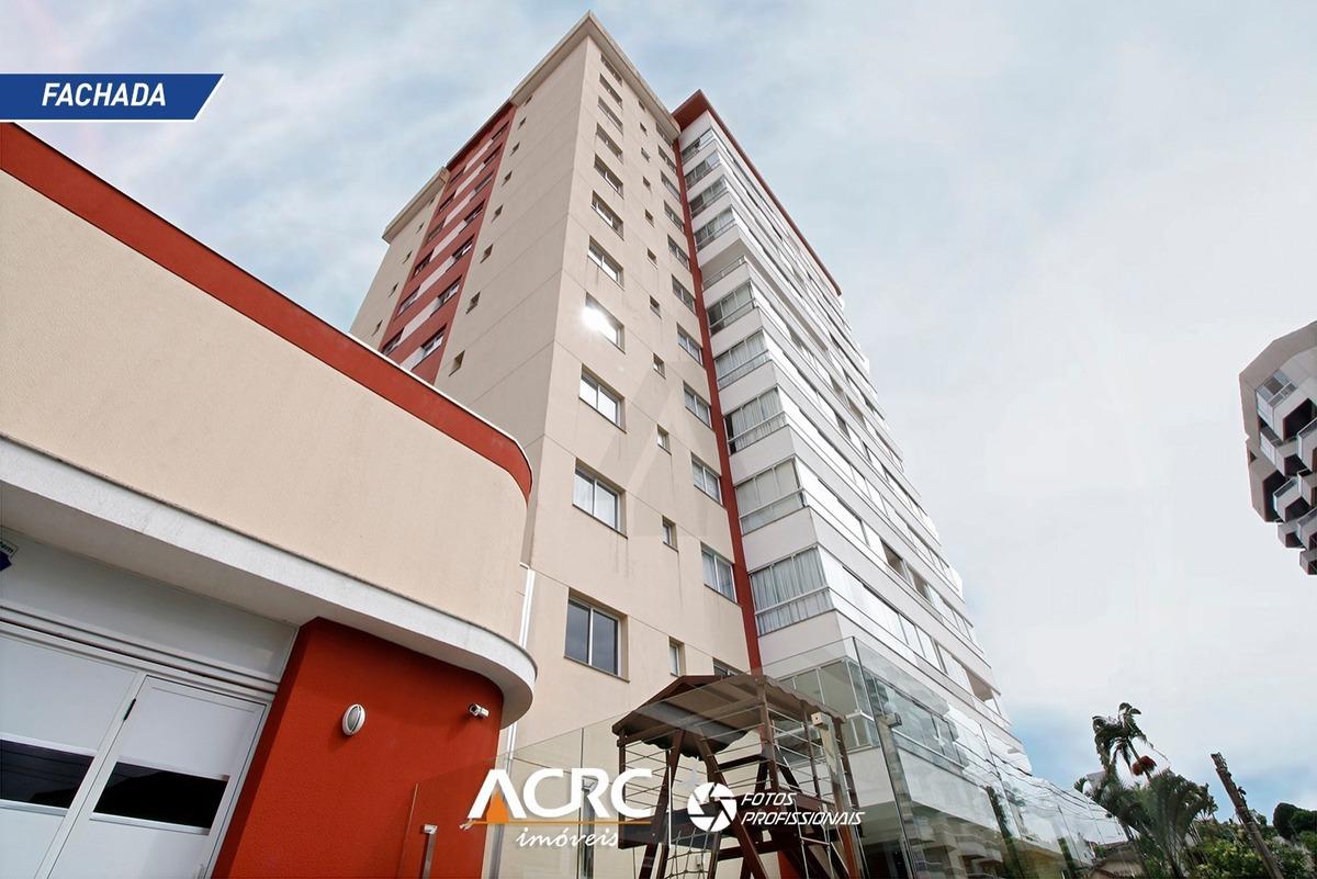 acrc imóveis - apartamento à venda no bairro itoupava norte, com 02 suítes e 02 vagas de garagem - ap02006 - 33363680