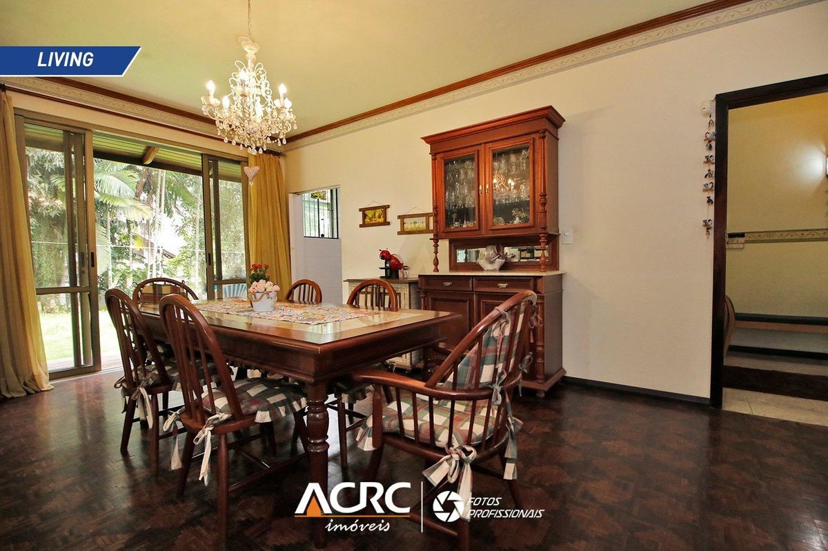 acrc imóveis - casa comercial mobiliada para locação no bairro jardim blumenau - ca01193 - 34633297