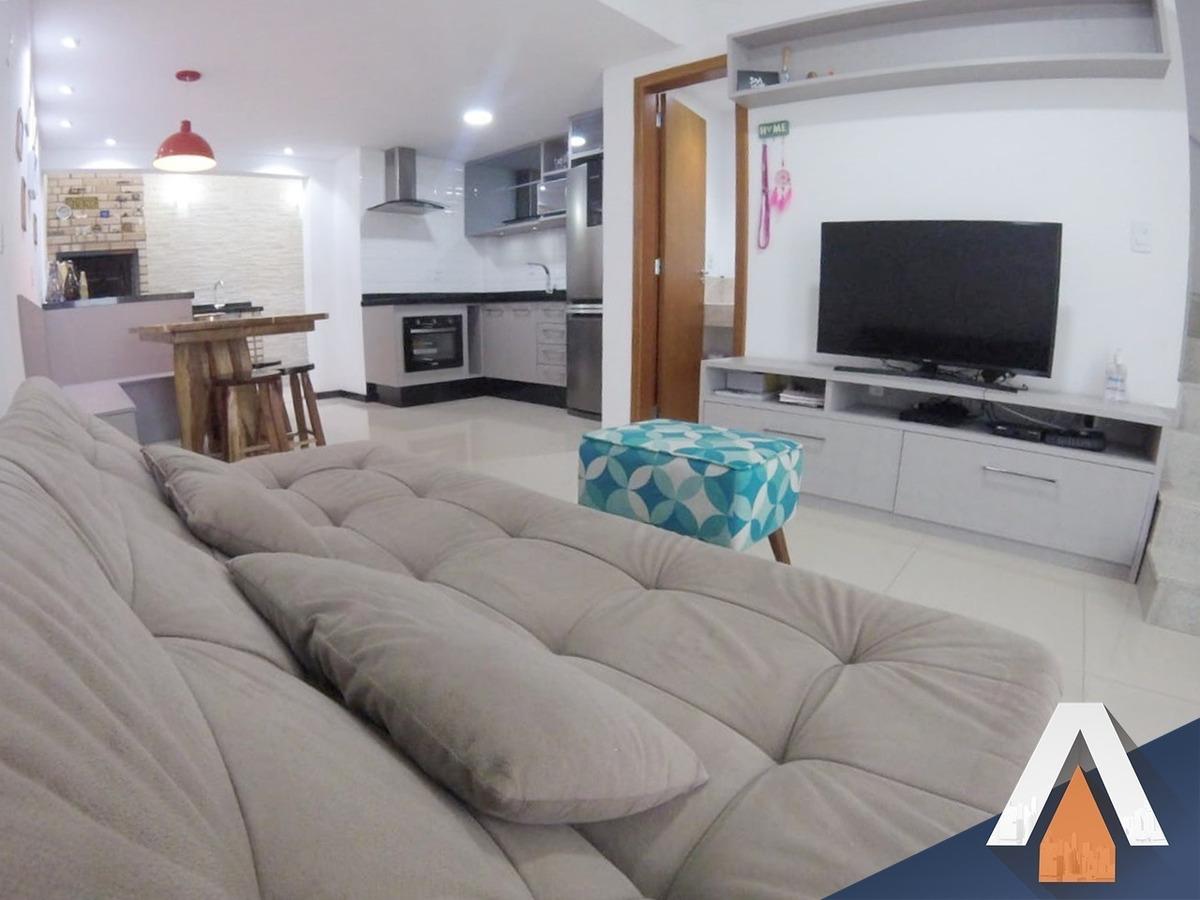 acrc imóveis - casa estilo sobrado mobiliado no bairro água verde - ca01127 - 34353489