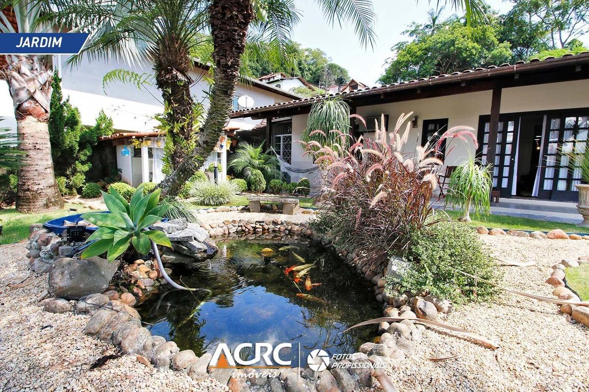 acrc imóveis - casa residencial semi mobiliada e com piscina para venda no bairro da velha - ca01325 - 34960670
