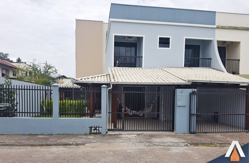 acrc imóveis - casa à venda no bairro salto do norte com 04 dormitórios sendo 01 suíte e 02 vagas de garagem. - ca00481 - 32108011