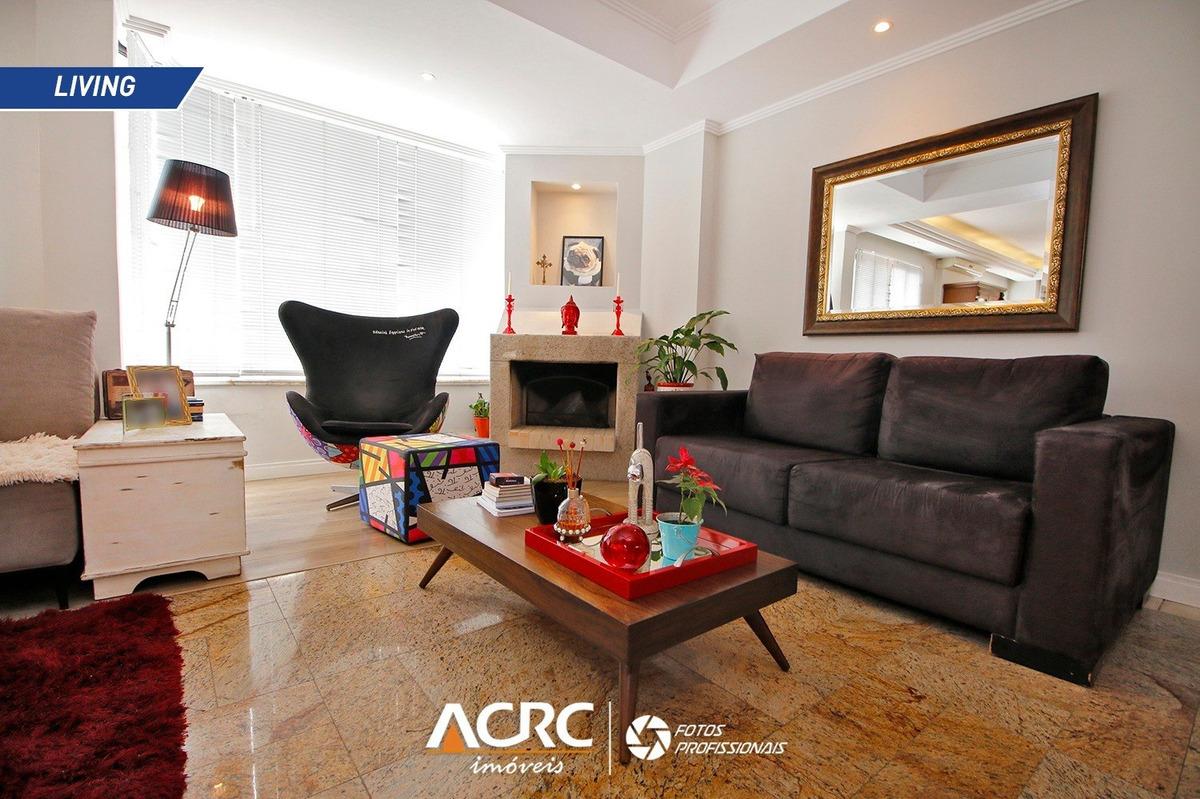 acrc imóveis - cobertura duplex semi mobiliada para vendas no bairro ponta aguda - ap02985 - 34498217
