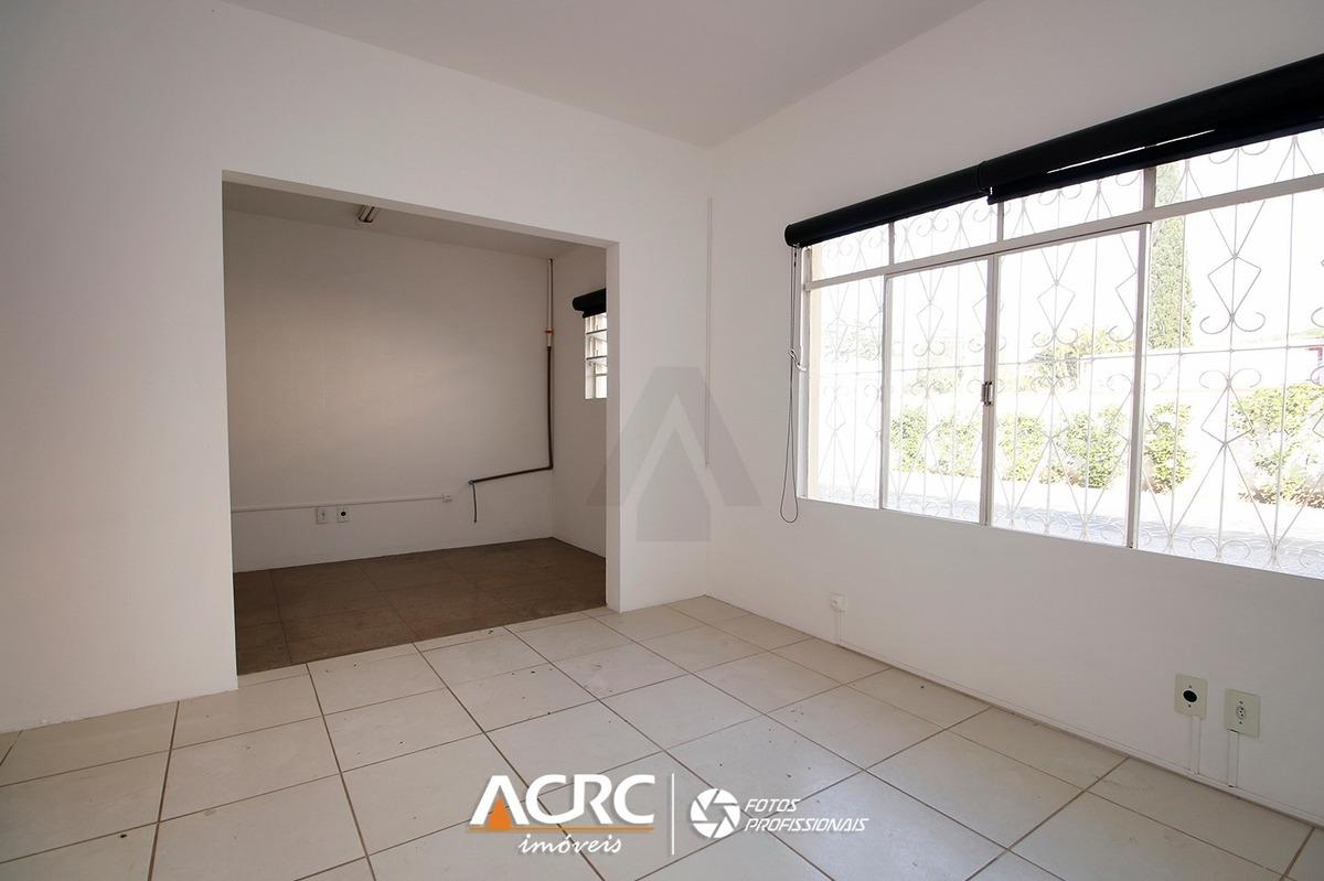 acrc imóveis-  imóvel comercial com 4 salas e 01 banheiro para locação - sa00406 - 33700325