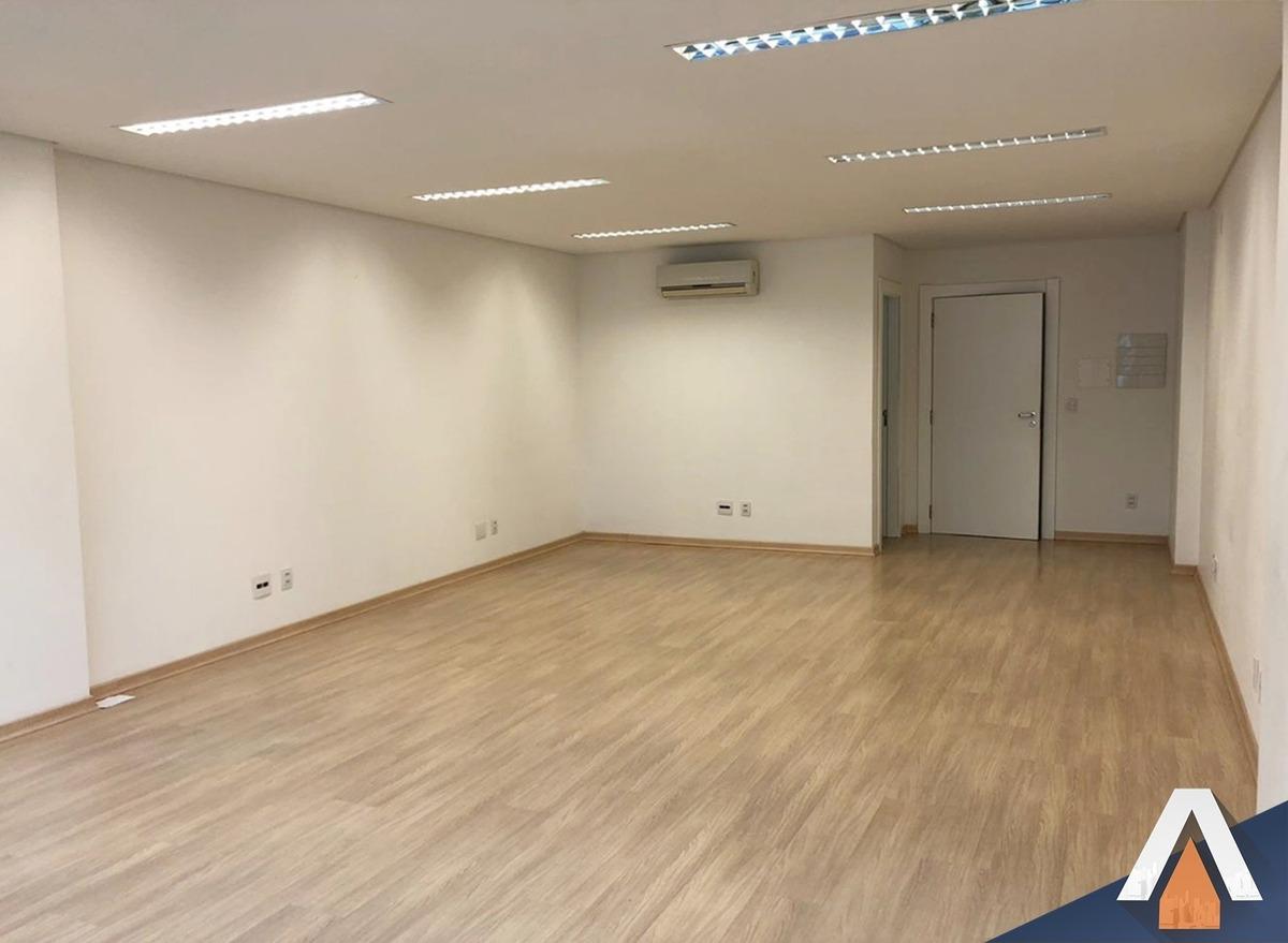 acrc imóveis - sala comercial com 50m² para locação no bairro velha - sa00537 - 34565118