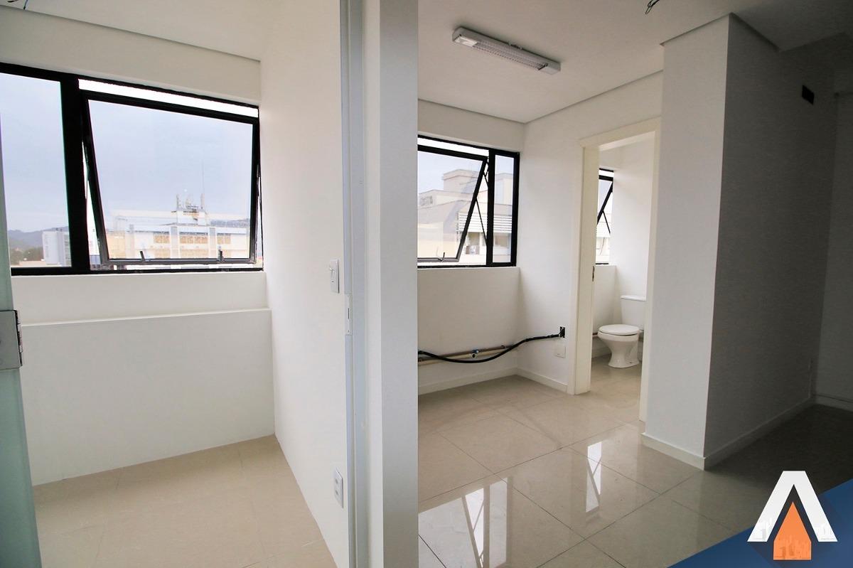 acrc imóveis - sala comercial para venda com 66 m² e 01 vaga de garagem - sa00373 - 33096898