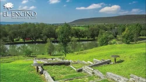 acr//hermoso terreno junto al campo de golf en excelente desarrollo. los encinos