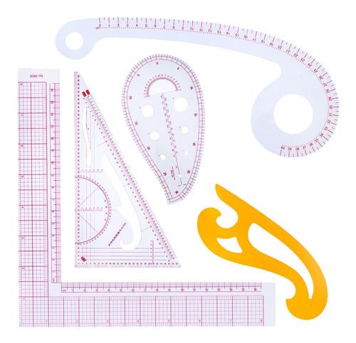 acrílica plantilla de acolchado regla de medición placa