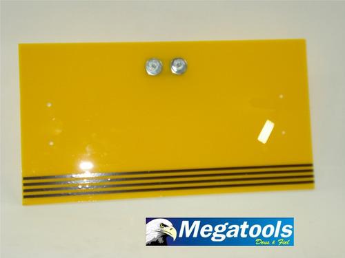 acrilico amarelo para luminária martelinho de ouro.