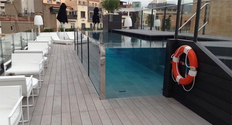 Acrilico para albercas cristal y vidrio para albercas for Pegamento para piscinas