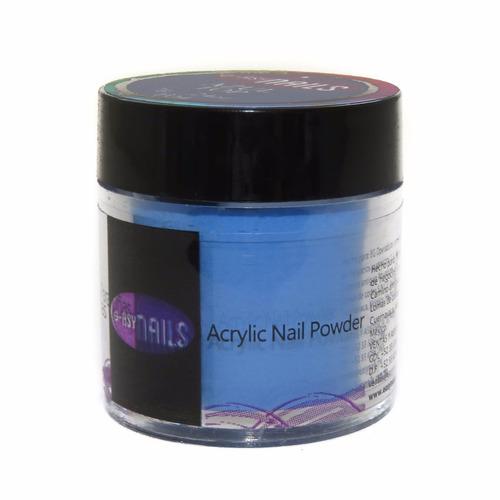 acrílico para uñas easy nails 30pza, +100 colores a escoger
