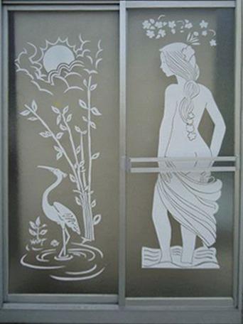 acrílico puertas de baño, difusora, divisiones policarbonato