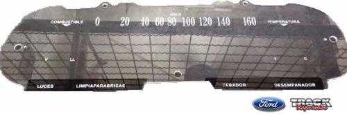 acrilico tablero simil original falcon 66  160 km