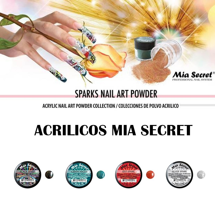 Acrilico u as decoracion mia secret coleccion sparks for Mia decoracion