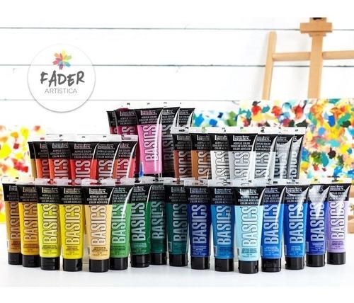 acrilicos liquitex basics pomo 118 ml todos los colores