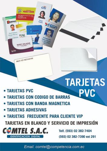 acrílicos - tarjetas pvc - porta credenciales