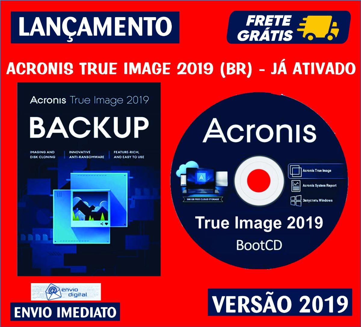 Acronis 2019 Boot Media