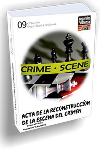 actas de reconstrucción en la escena del crimen