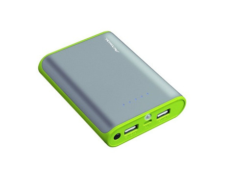 acteck pb-1000 powerbank 10000 mah color gris