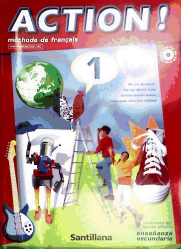 action! 1 pack (livre eleve+cd) (reforma)(libro idiomas)